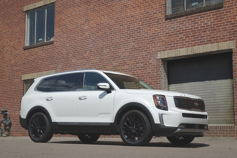 2020 Kia Telluride Review Rugged Good Looks Comfort For Miles Capital One Auto Navigator
