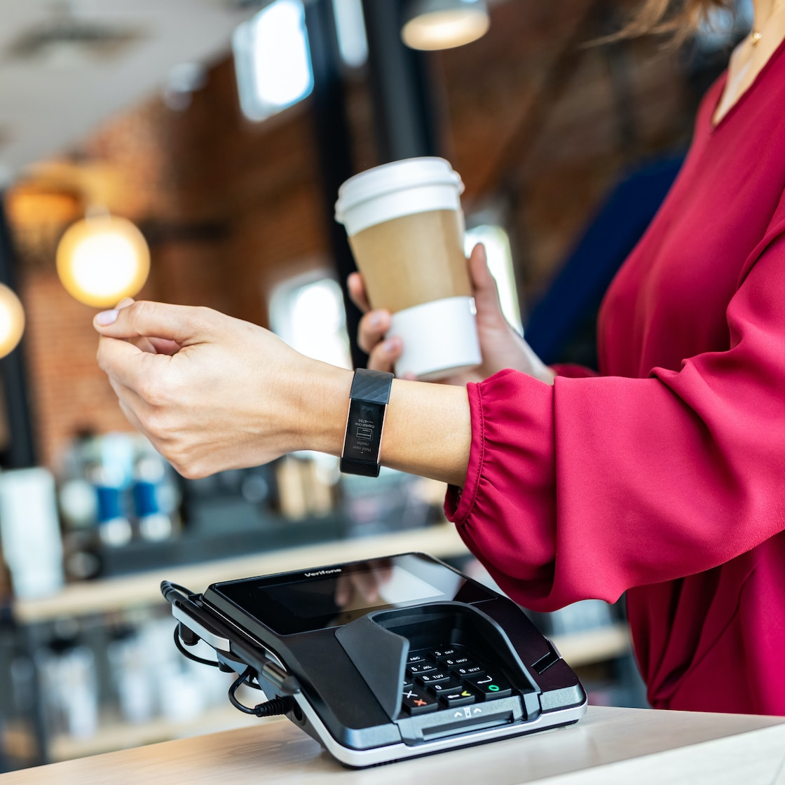 Paying with Fitbit Pay