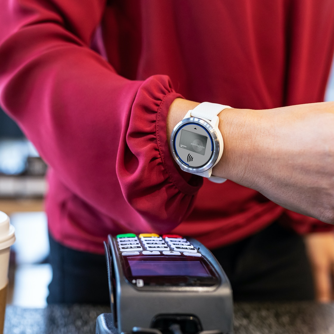 Paying with Garmin Pay