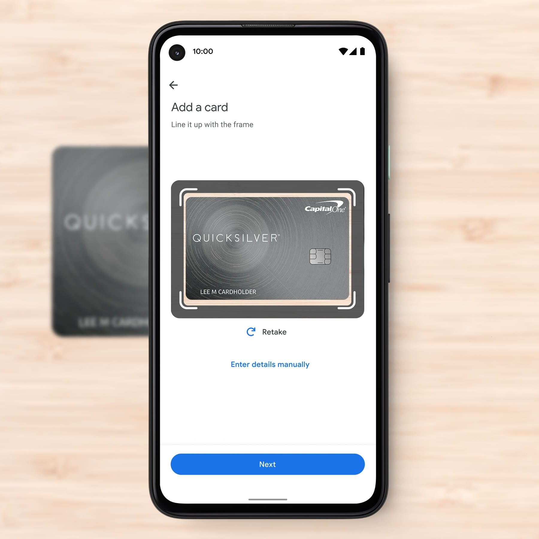 Setting up Google Pay on an Android