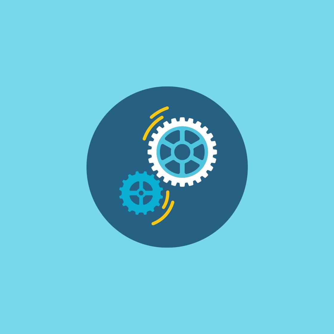 illustration of gears