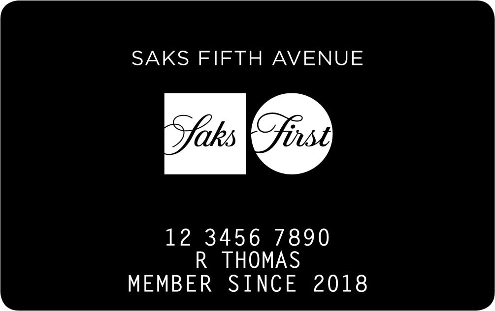 saks fifth avenue saks first credit card your information