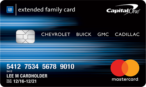 Gm Extended Family Card >> General Motors Extended Family Your Information